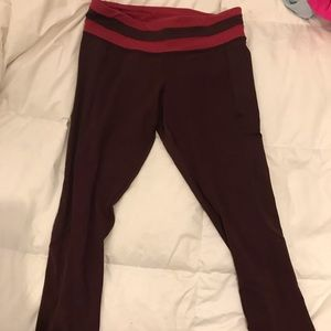 Lulu Lemon crop pants